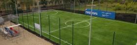 Строительство футбольного поля для сирот школы-интерната №1 г. Кирова